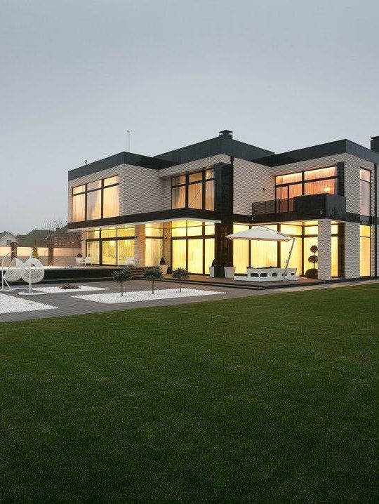 Дом в стиле ар-деко