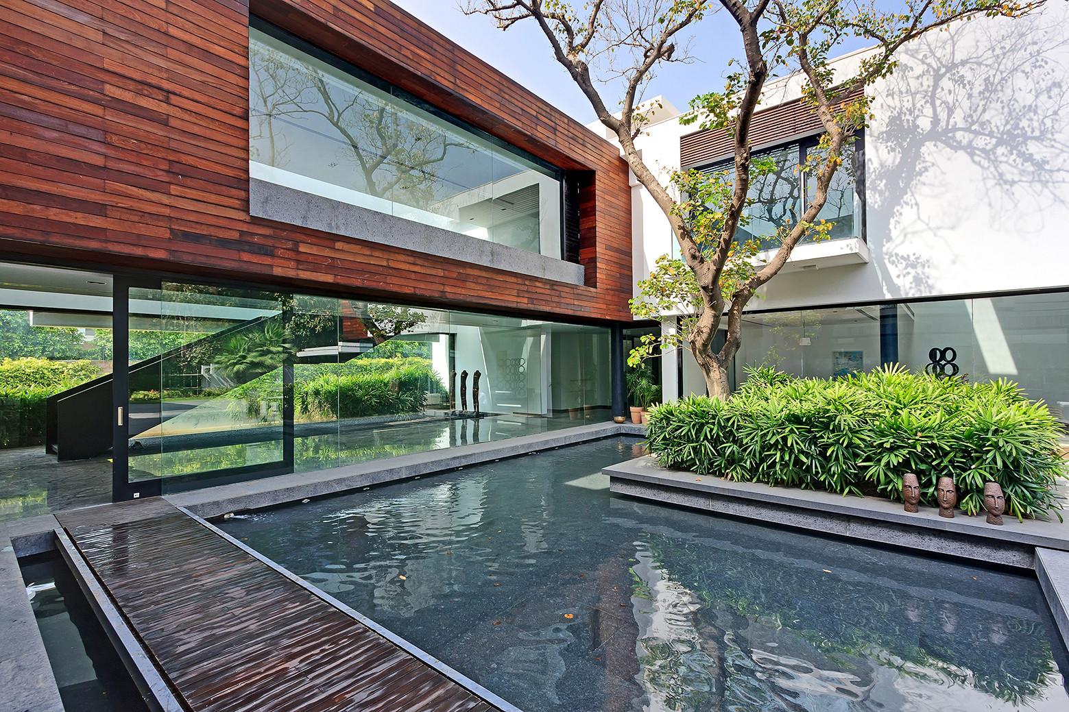 Дом с тремя деревьями от DADA