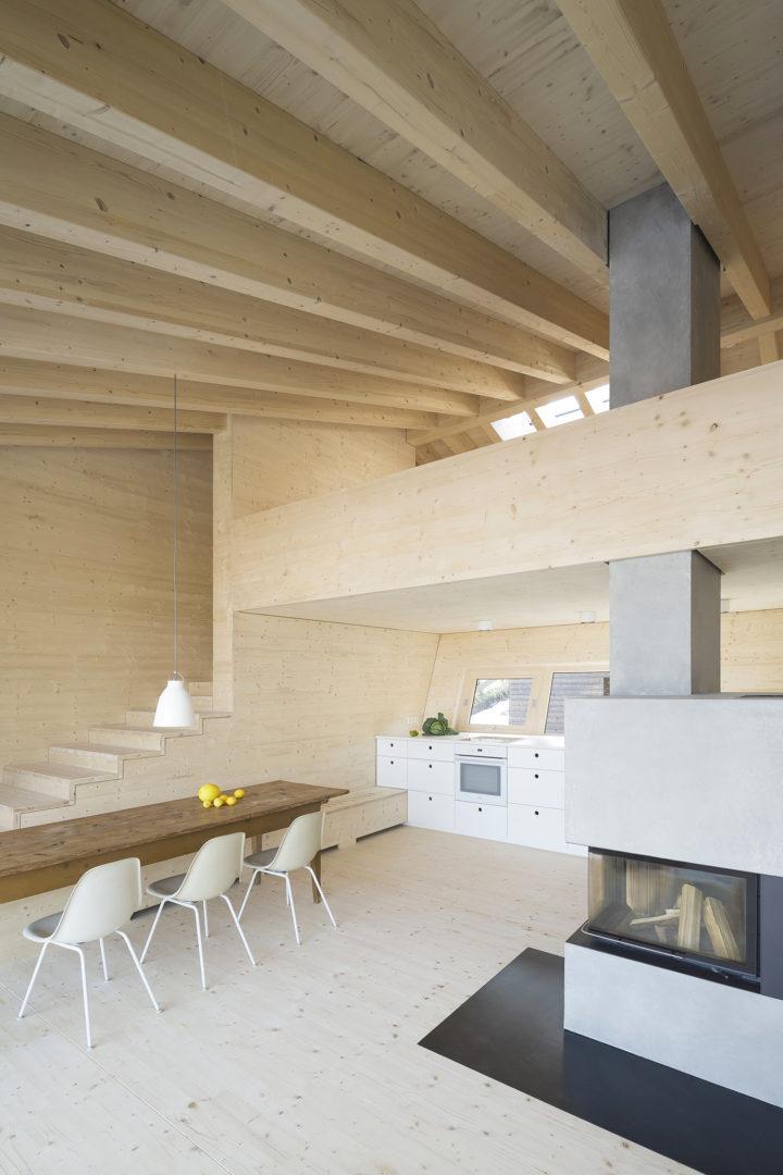 Деревянный дом в Германии