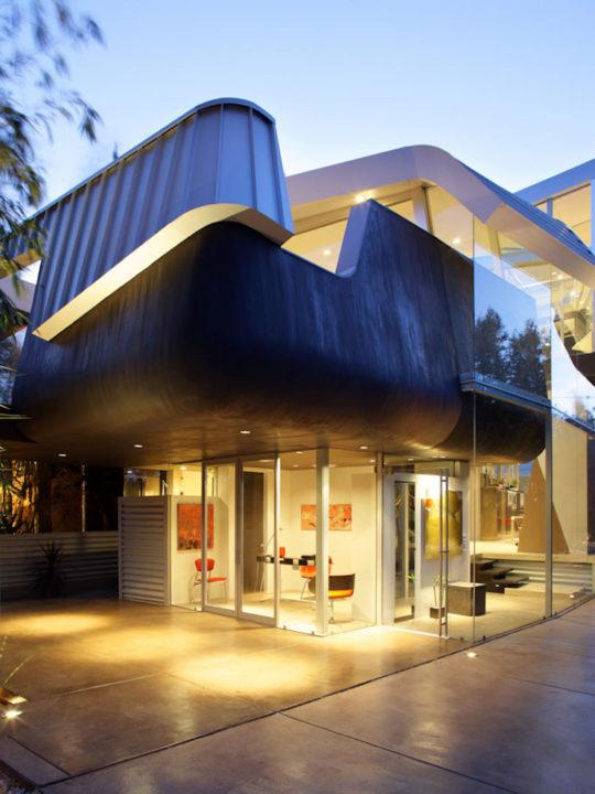 Уникальный дом в Лос-Анджелес от Coscia Day