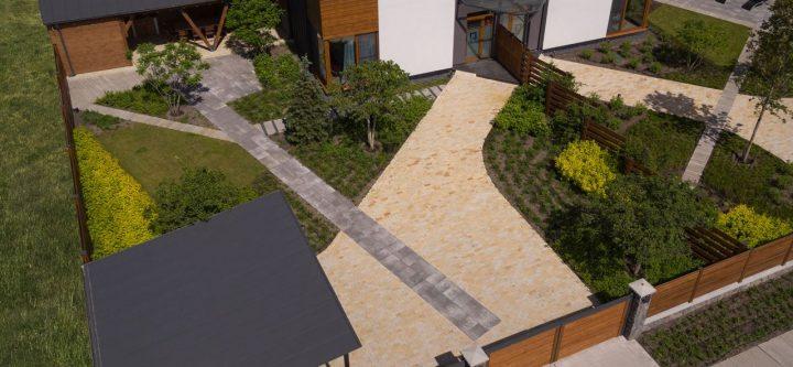 QDRO-terraced house – Двор