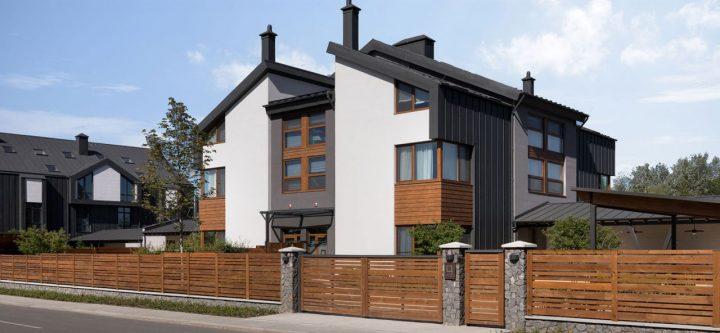 QDRO-terraced house – Дом