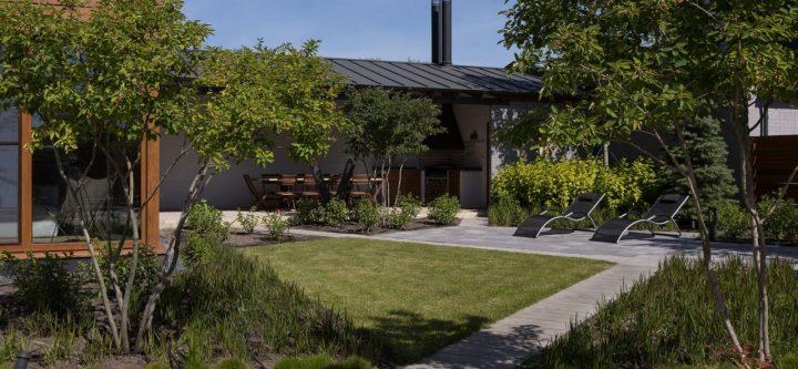 QDRO-terraced house – BBQ-Зона