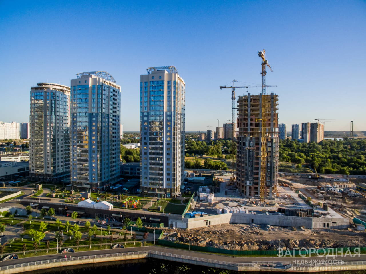 RiverStonе: жилой комплекс для семьи